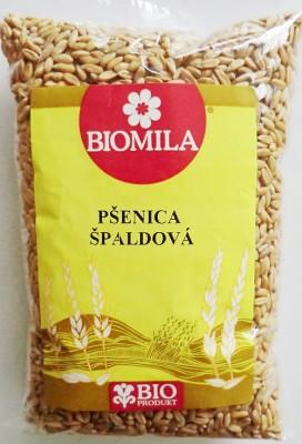Pšenica špalda 500g bio Eko - Pšenica špaldová je predchodca klasickej pšenice. Má nezameniteľnú orieškovú chuť.