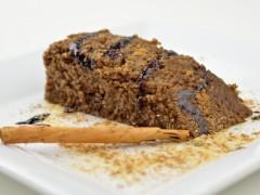 Kus-kusový dezert s carobom