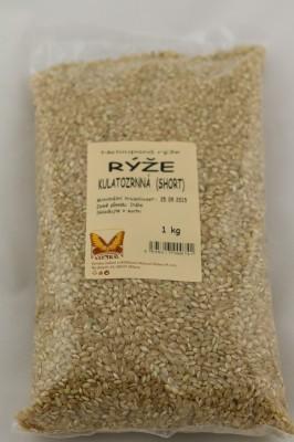 Ryža natural guľatá 1kg JN - Nelúpaná ryža krátka guľatá