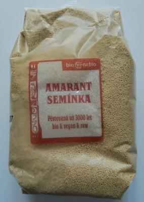 Amarant 500g Bio nebio - Amarant (u nás známy ako Láskavec) je stará obilnina pochádzajúca z Južnej Ameriky.