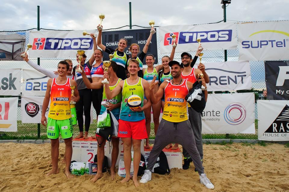 Klinika Medante podporila majstrovstvá Slovenska vplážovom volejbale