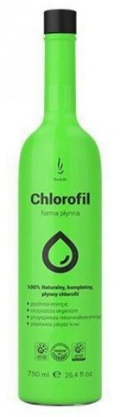 DuoLife CHLOROFIL 750 ml - DuoLife Chlorofil - 100% prirodzená dávka energie na každý deň.