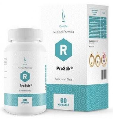 DuoLife ProStik 60 kaps. - DuoLife ProStik - udržuje kĺby a kosti v ideálnej kondícií a podporuje pohybové ústrojenstvo.