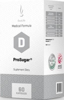 DuoLife ProSugar 60 kaps. - DuoLife ProSugar - pomáha kontrolovať hladinu cukru v krvi a regulovať poruchy metabolizmu.