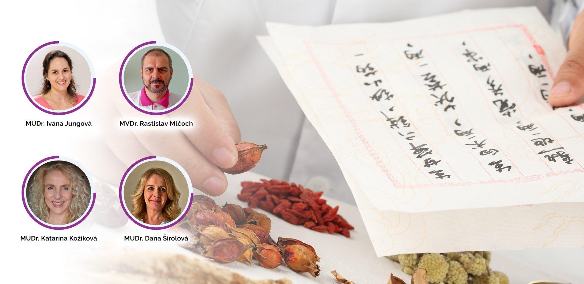 Predstavujeme náš lekársky tím terapeutov Tradičnej čínskej medicíny