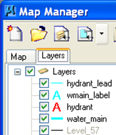 Bentley MAP - Map Manager