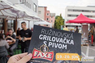 Grilovačka s Pivom FAXE
