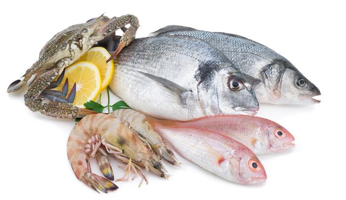 Mrazené rybie výrobky