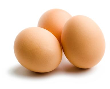 Droždie a vajcia