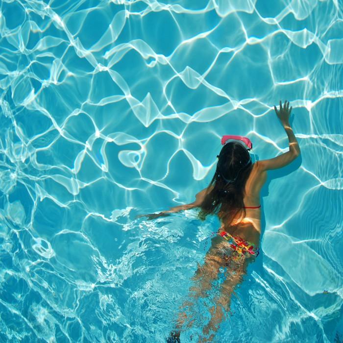 Čistenie bazénu